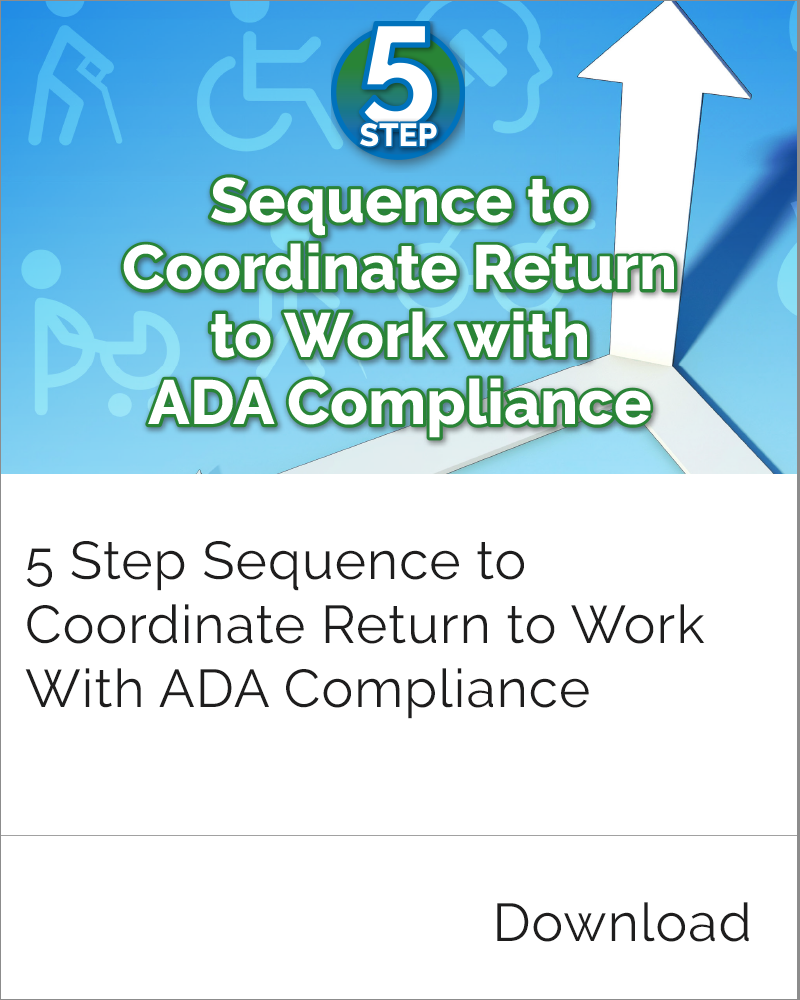 ADA Compliance and RTW