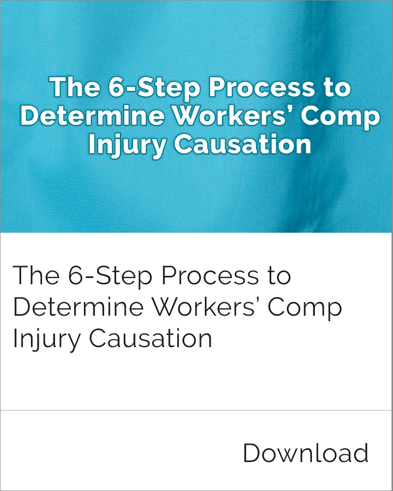 Determine Injury Causation
