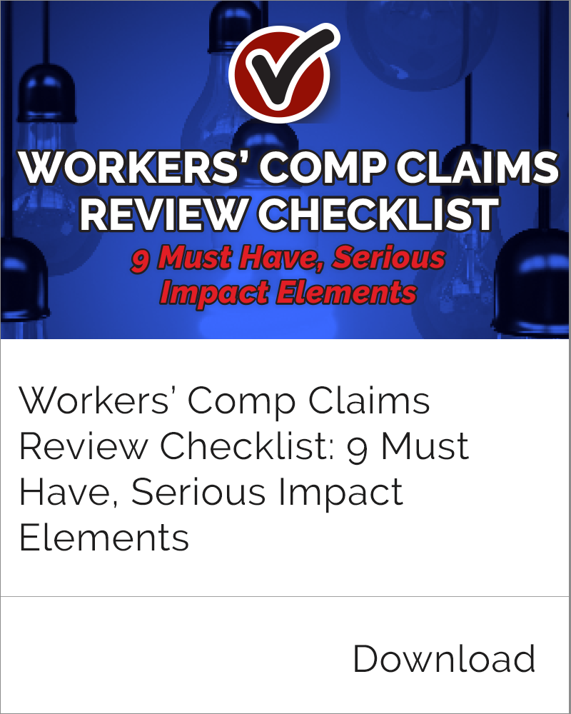 Claims Review Checklist
