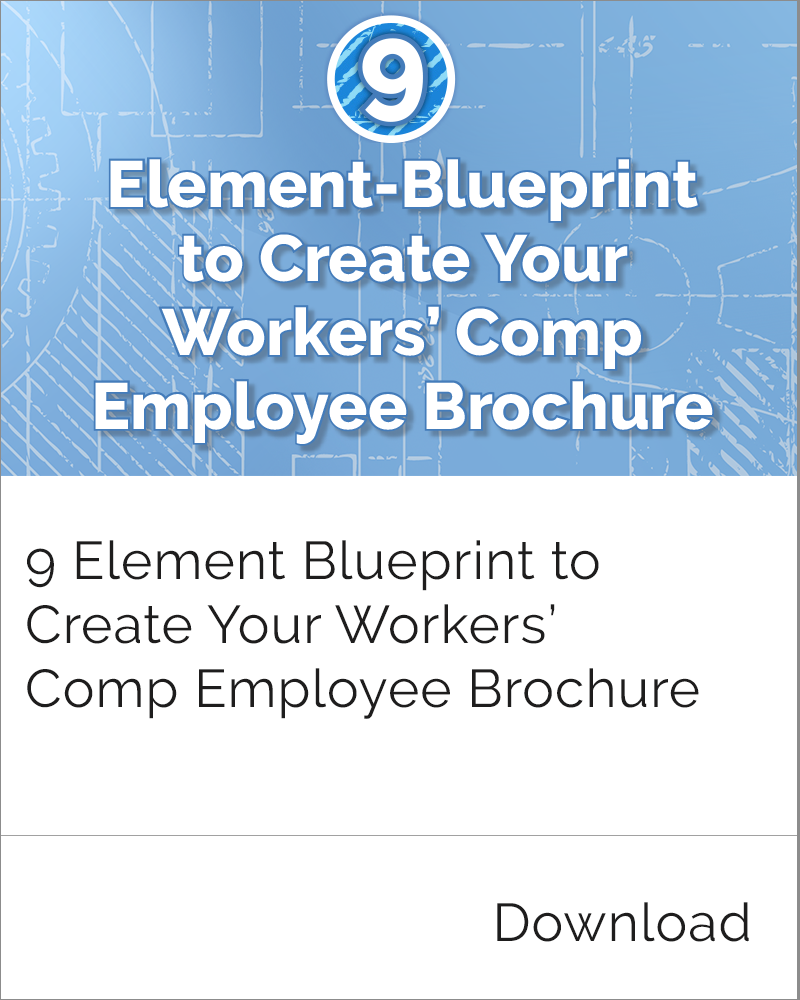 Workers' Comp Employee Brochure
