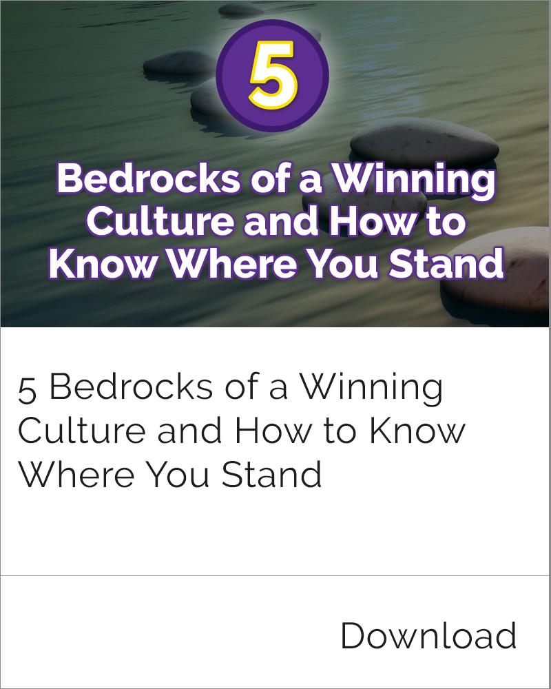 Winning Culture