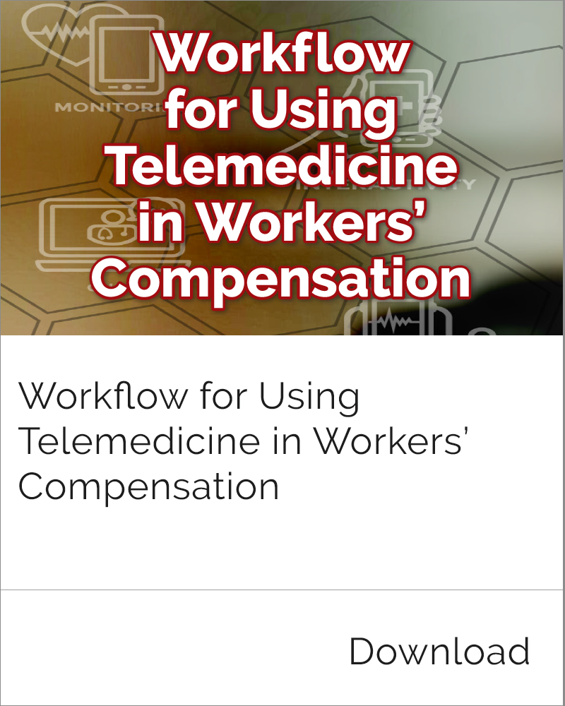 Telemedicine in Workers' Comp