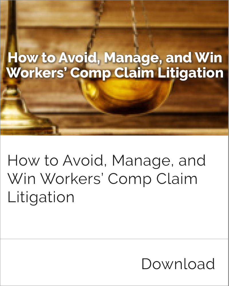 Workers' Comp Claim Litigation
