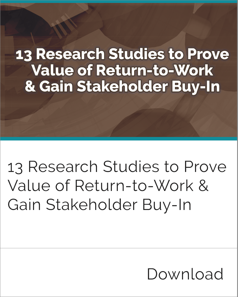 Value of Return-to-Work