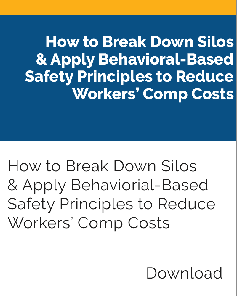 Behavioral-Based Safety Principles