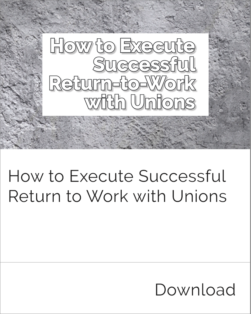 Return-to-Work and Unions