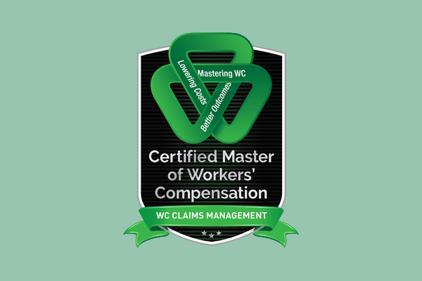 Certified Master of Workers' Compensation - WC Claims Management