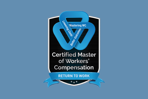 Return to Work Certification: Master of Workers' Compensation