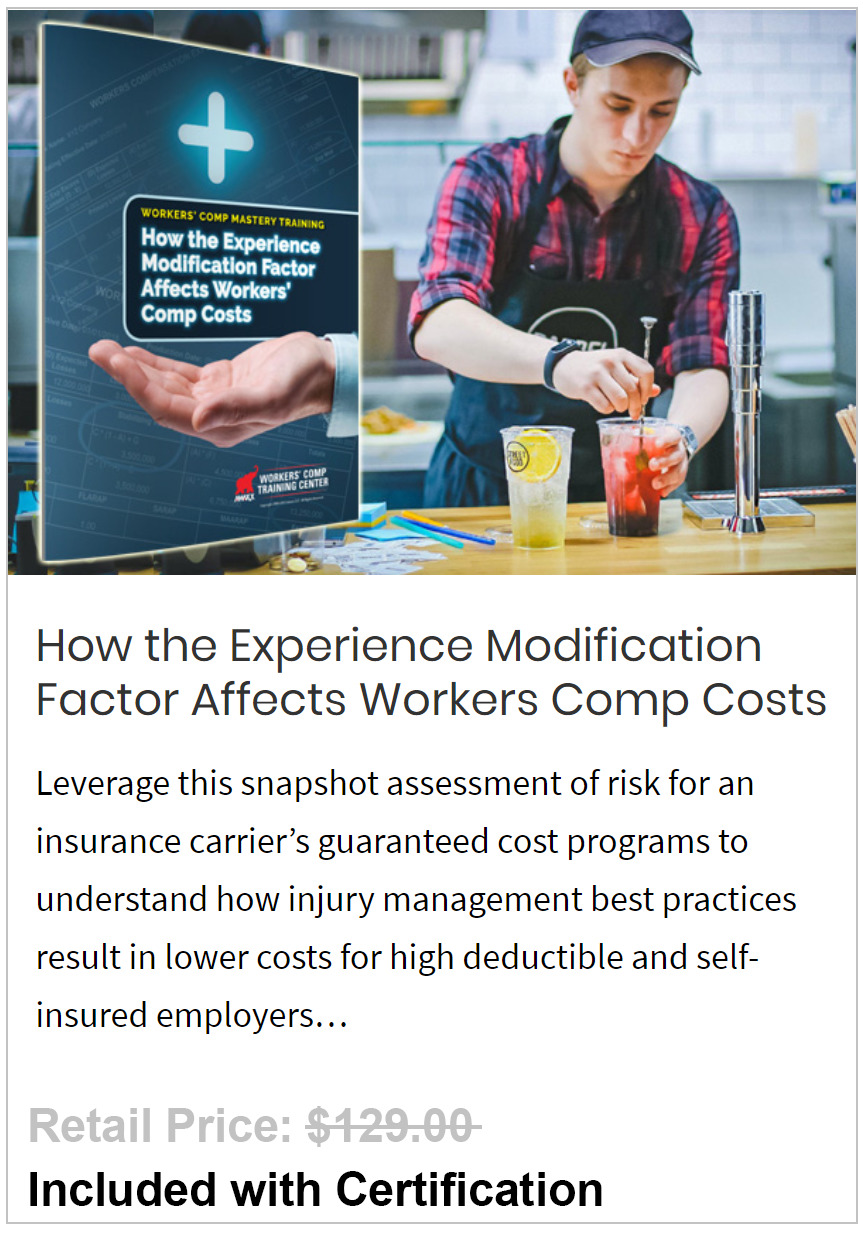 Experience Modification Factor Affects Workers Comp Costs