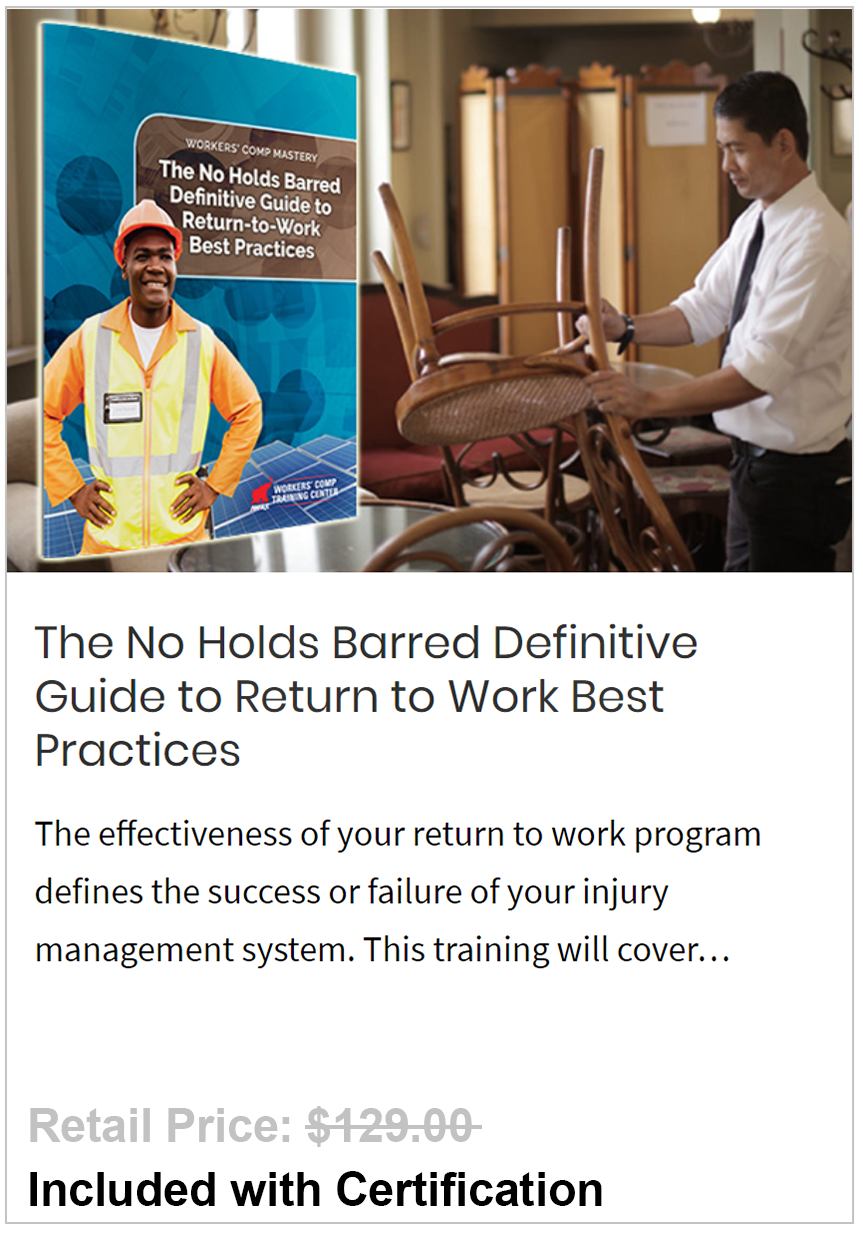 Return to Work Best Practices