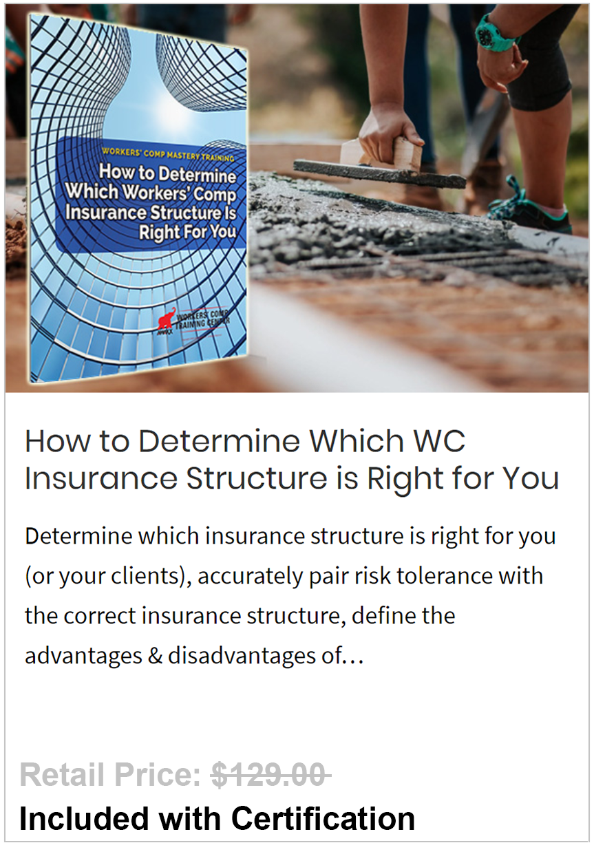 IDetermine Which WC Insurance Structure is Right for You