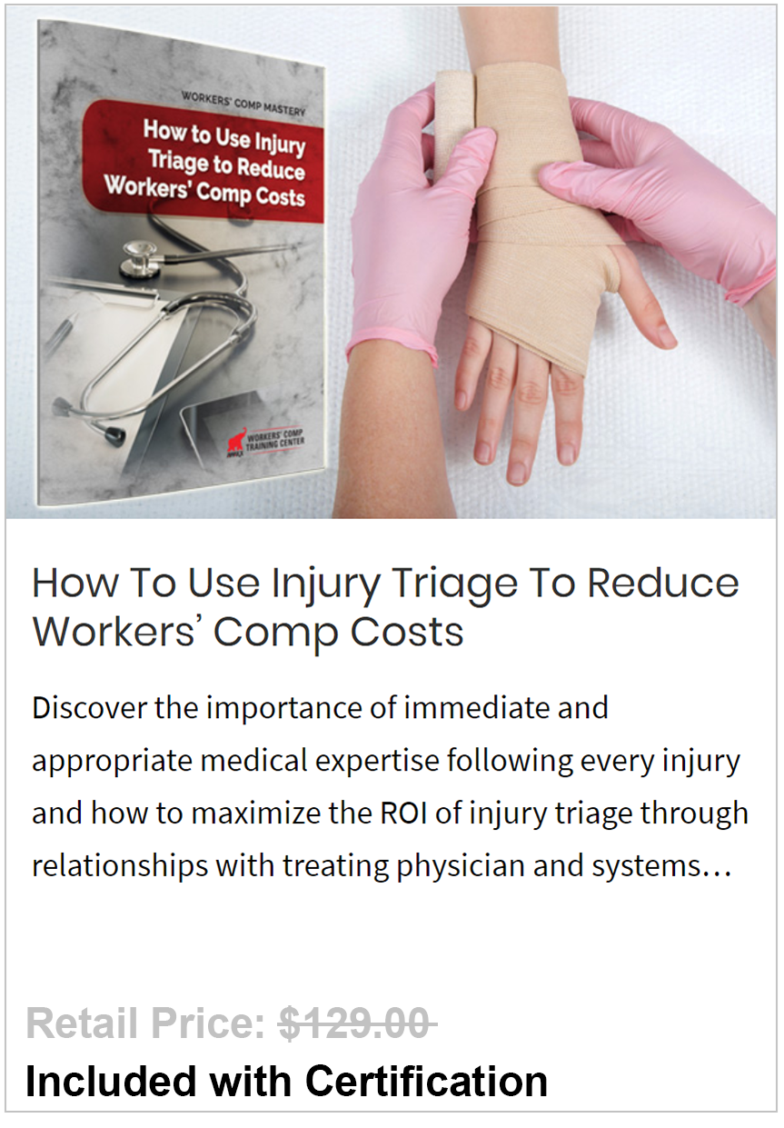 Use Injury Triage To Reduce Workers' Comp Costs