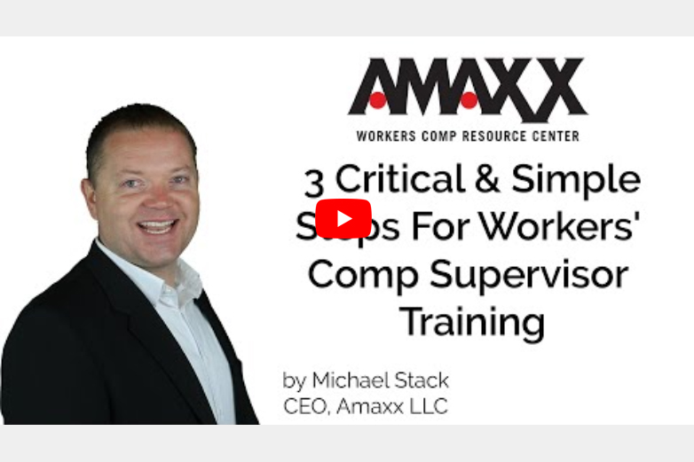 3 Critical And Simple Steps For Workers' Comp Supervisor Training