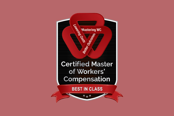 Best In Class Master of Workers' Compensation Certification